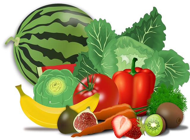 mix ovoce a zeleniny