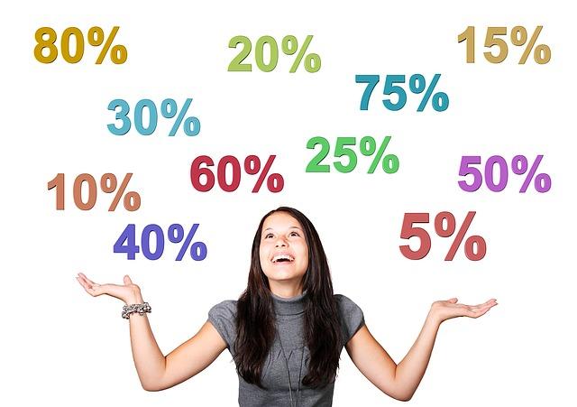 procenta nad holkou