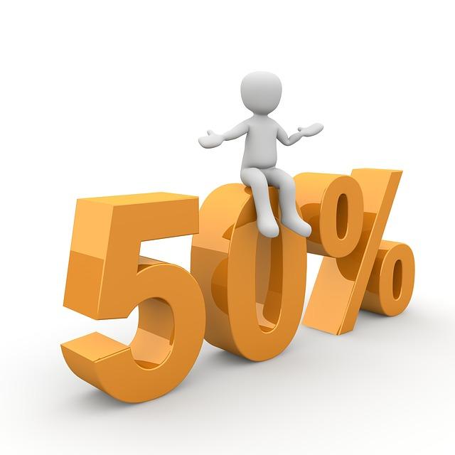 padesát procent
