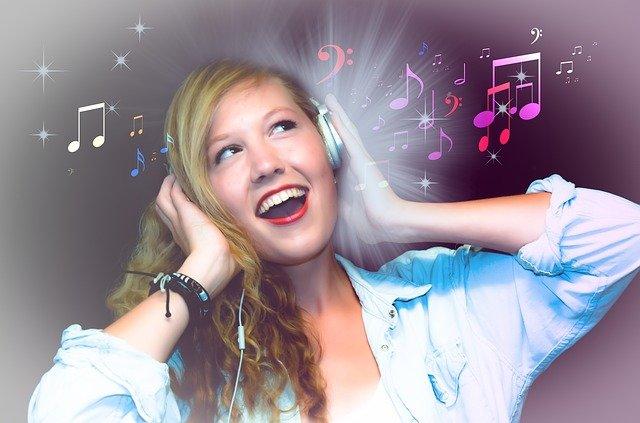 zpěvačka karaoke